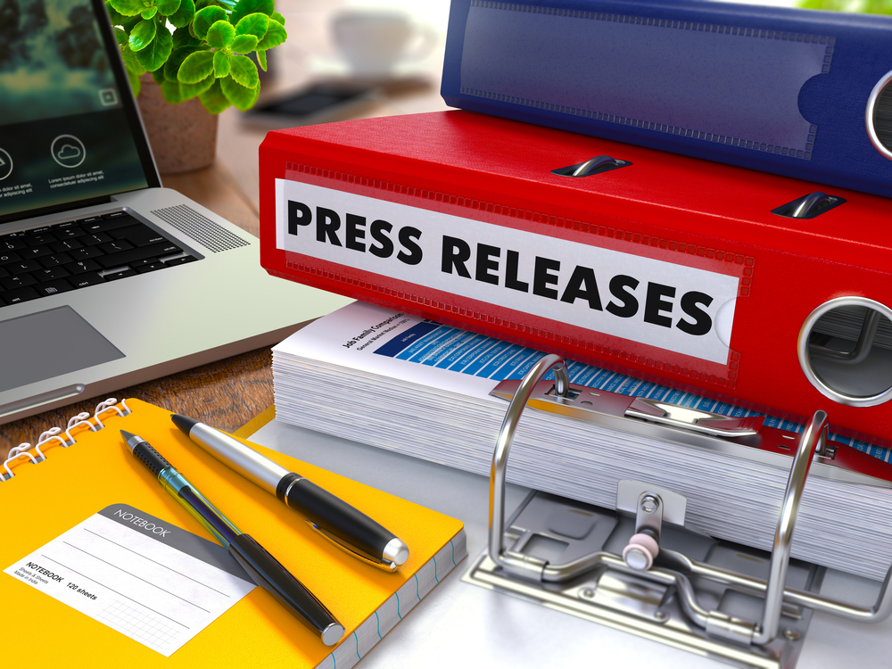 Press Releases to build your public relations image